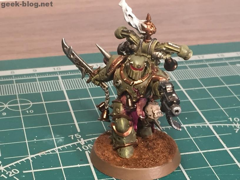 How to paint Death Guard Plague Marine result 1