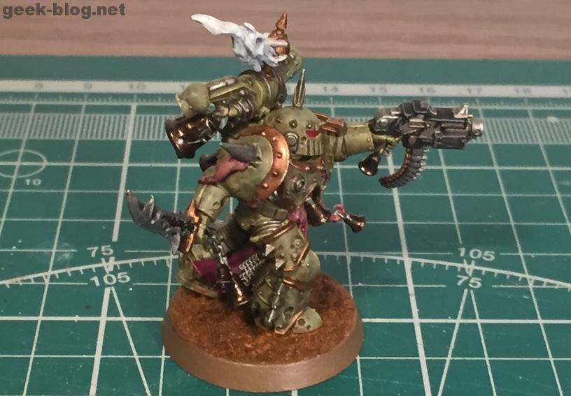 How to paint Death Guard Plague Marine result 2