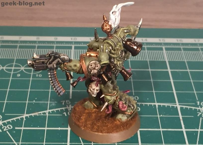 How to paint Death Guard Plague Marine result 4
