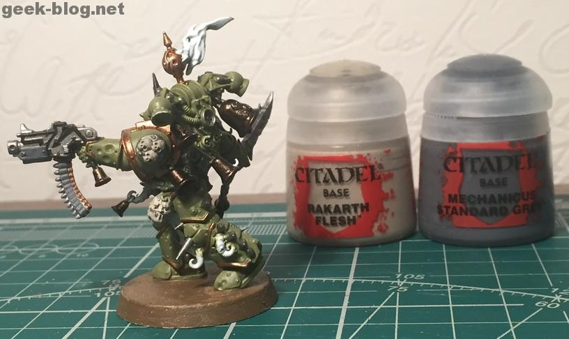 How to paint Death Guard Plague Marine step 5.2 painting