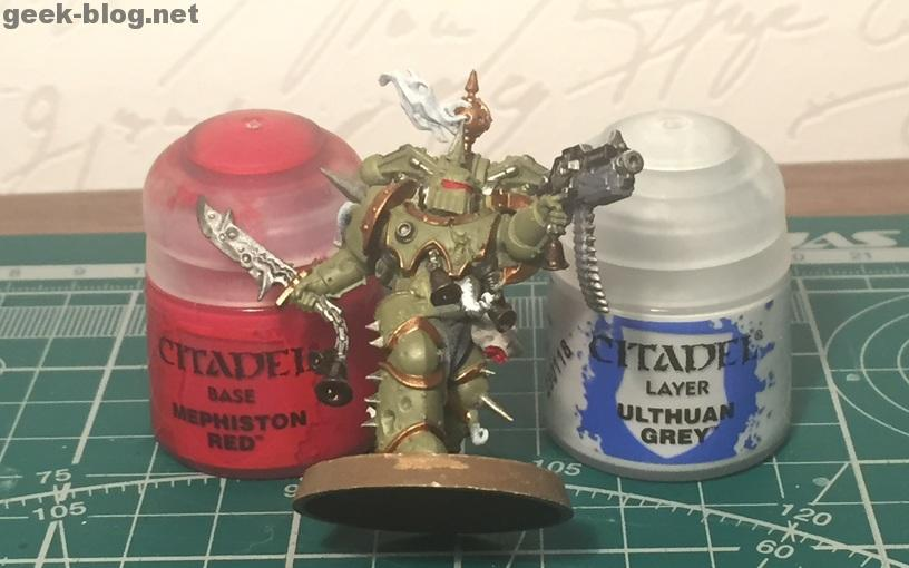 How to paint Death Guard Plague Marine step 6 painting