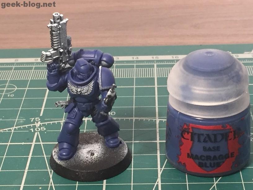how to paint ultramarine macragge blue