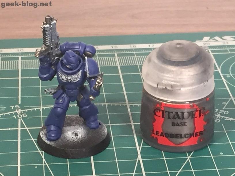 how to paint ultramarine leadbelcher
