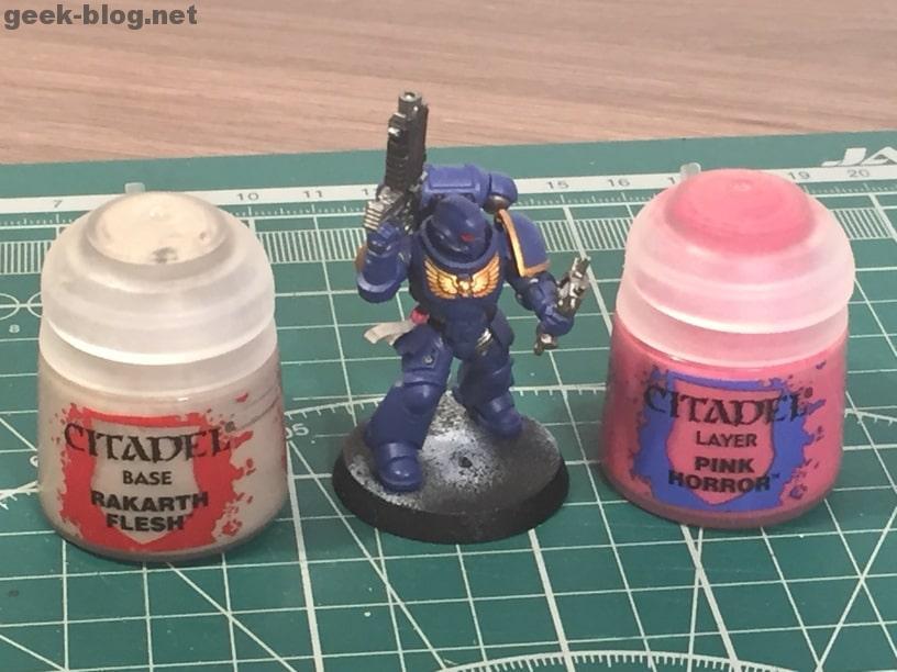 how to paint ultramarine purity seals rakarth flesh, pink horror
