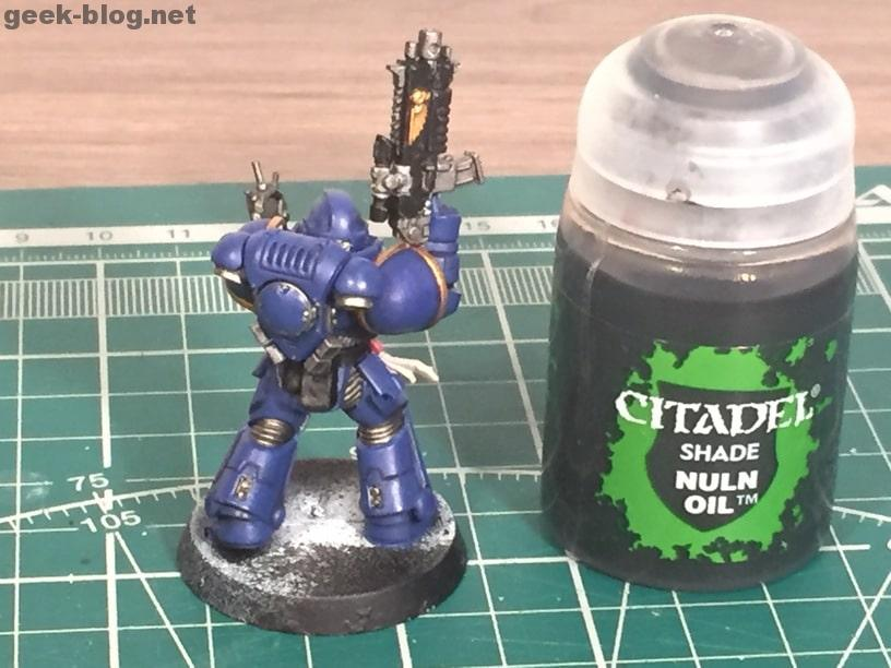 how to paint ultramarine nuln oil 2