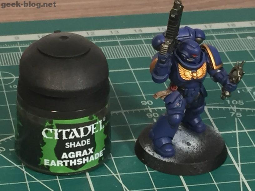 how to paint ultramarine purity seal agrax earthshade