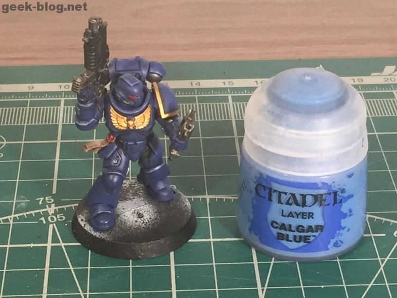how to paint ultramarine calgar blue