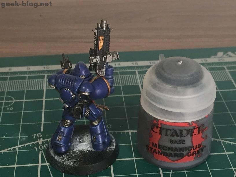 how to paint ultramarine mechanicus standard grey