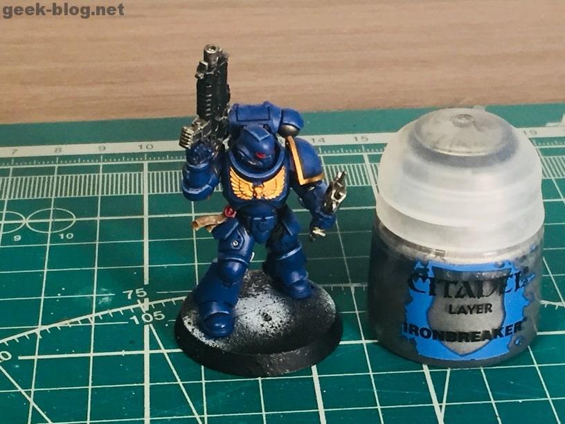 how to paint ultramarine ironbreaker