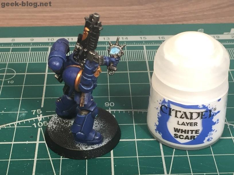 how to paint ultramarine White Scar fail