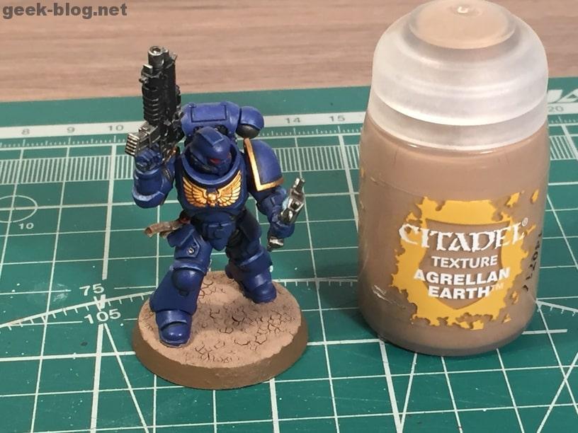 how to paint ultramarine base agrellan earth