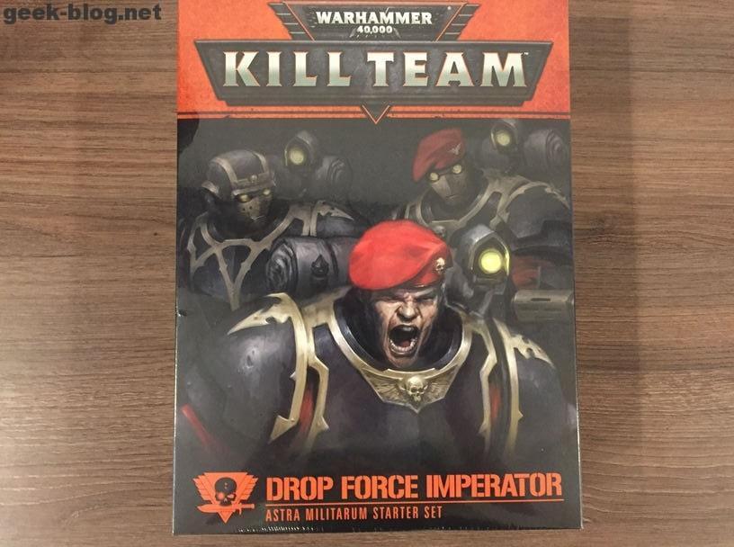 Kill Team Drop Force Imperator set - best Сhristmas present form my wife!