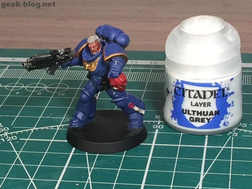 how to paint warhammer head and hair step 07 Ulthuan Grey