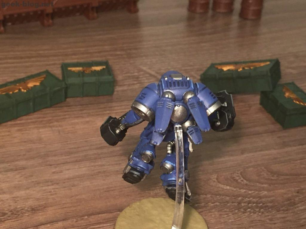 Space Marine Inceptor Sergeant painted figure photo 03