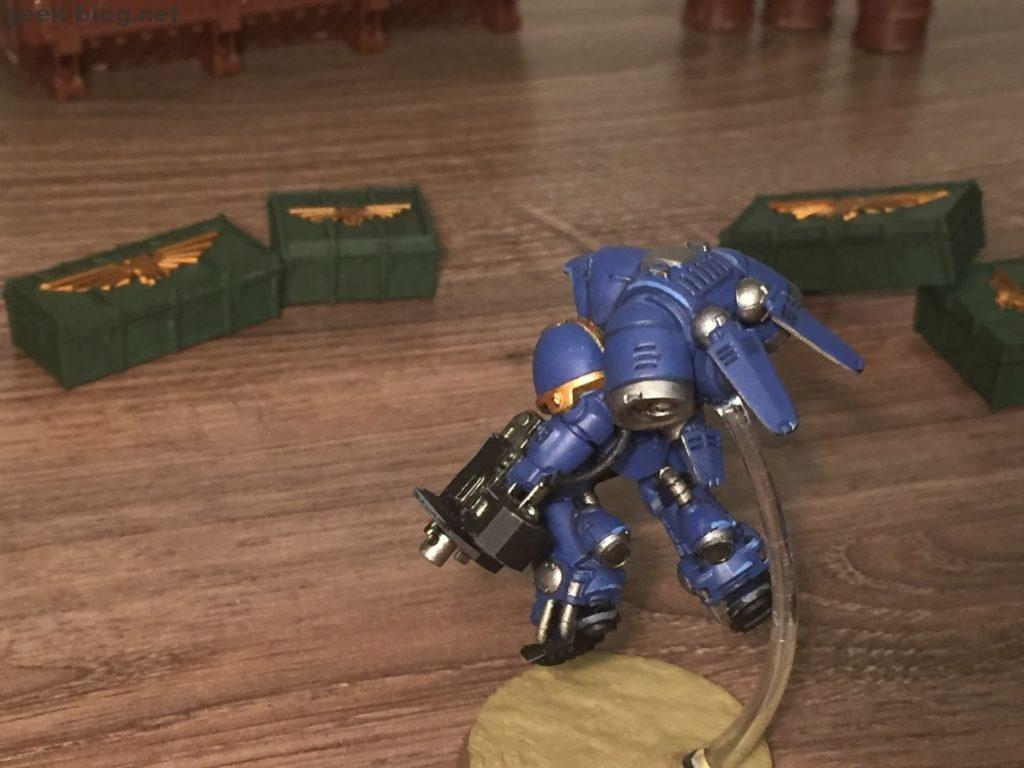 Space Marine Inceptor Sergeant painted figure photo 04