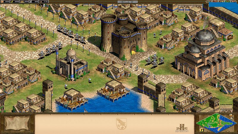 Age of Empires review of the game