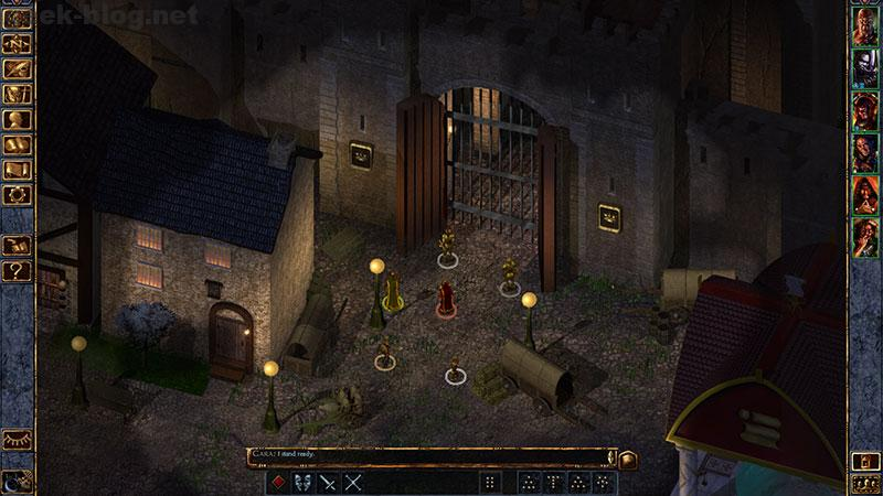 baldur's gate review gameplay