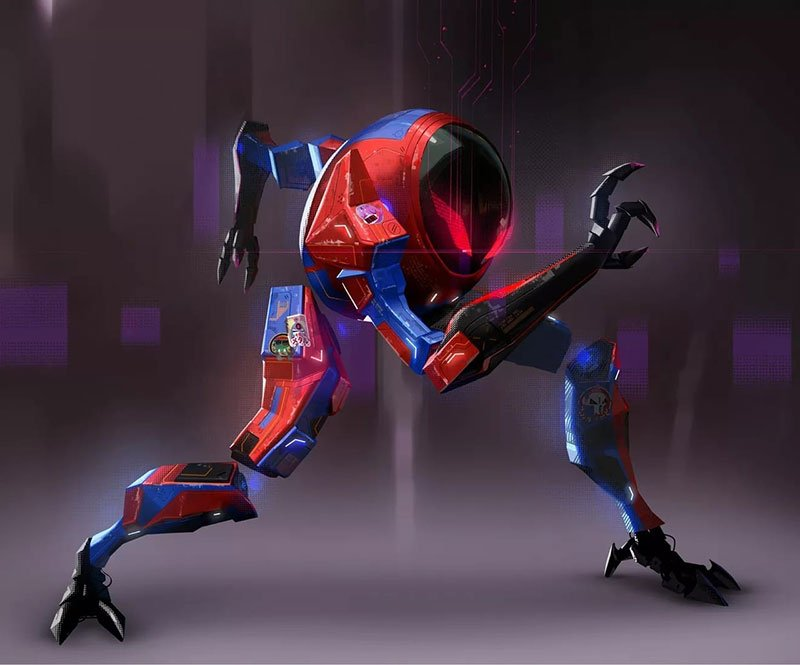 spider man 2099 art wallpaper