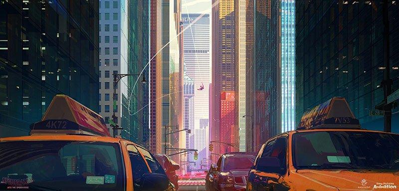 spider man art movie