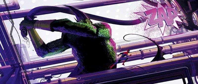 spider man noir perler art