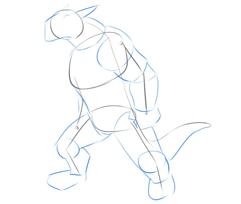how to draw a dragonborn dnd