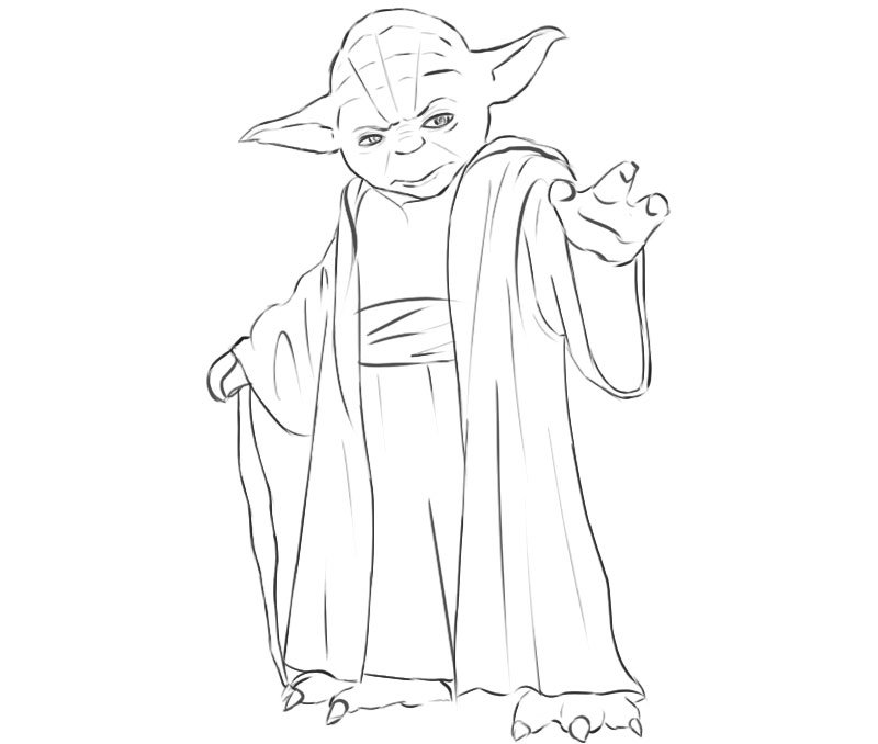 Yoda drawing tutorial