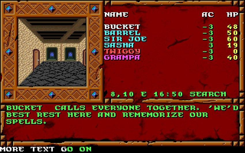 classic d&d games