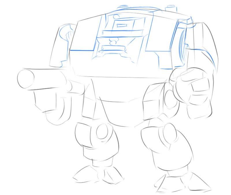dreadnought drawing