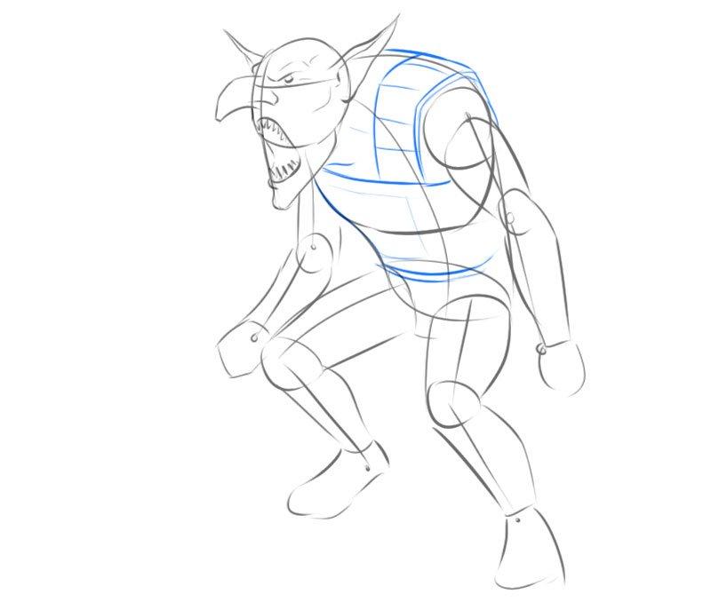 fantasy goblin drawing