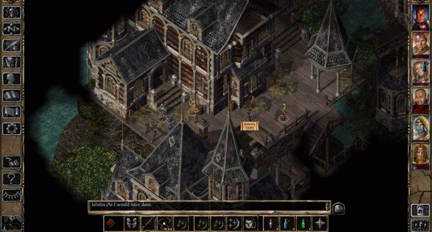 history of Baldur's Gate 2