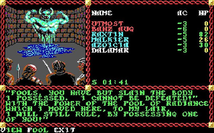 history of dnd games