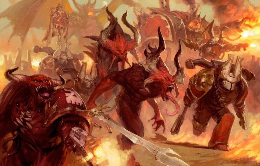 warhammer 40 000 chaos