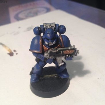 Here's my First Painted Warhammer 40k Miniature!)