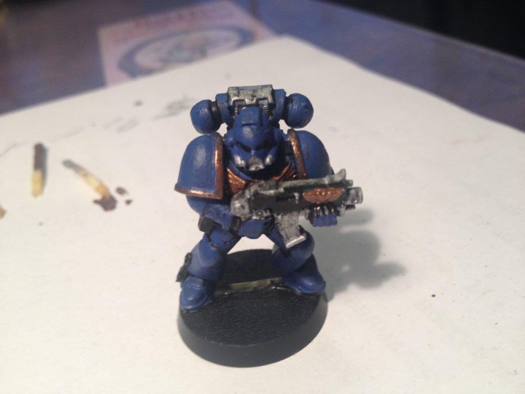 my first warhammer 40k figure!