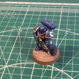 Warhammer 40k miniature