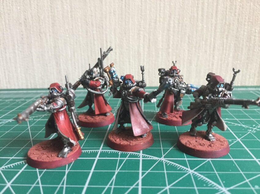 my admech scitarii rangers small team