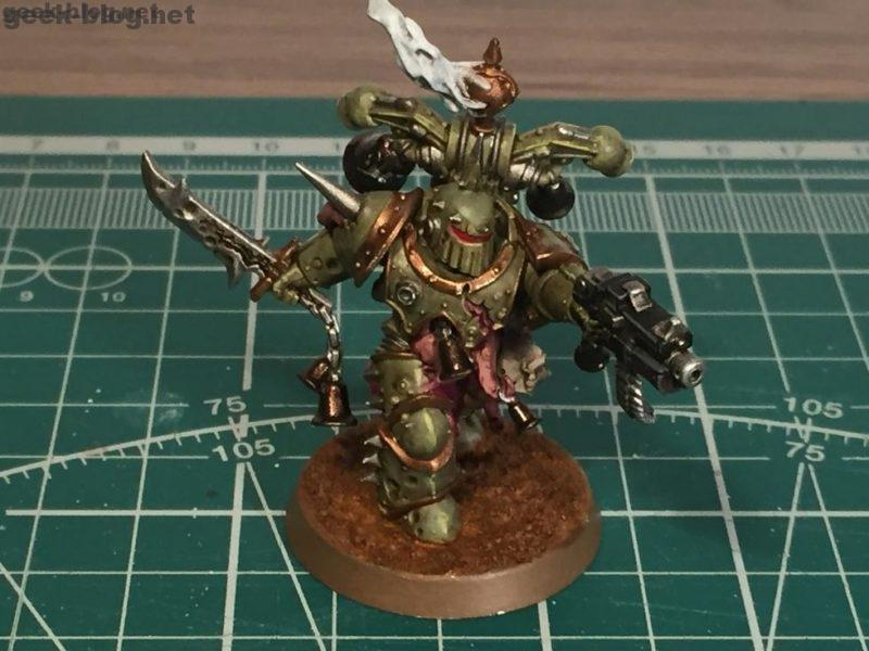 How to Paint a Death Guard Plague Marine from Know No Fear Starter Set