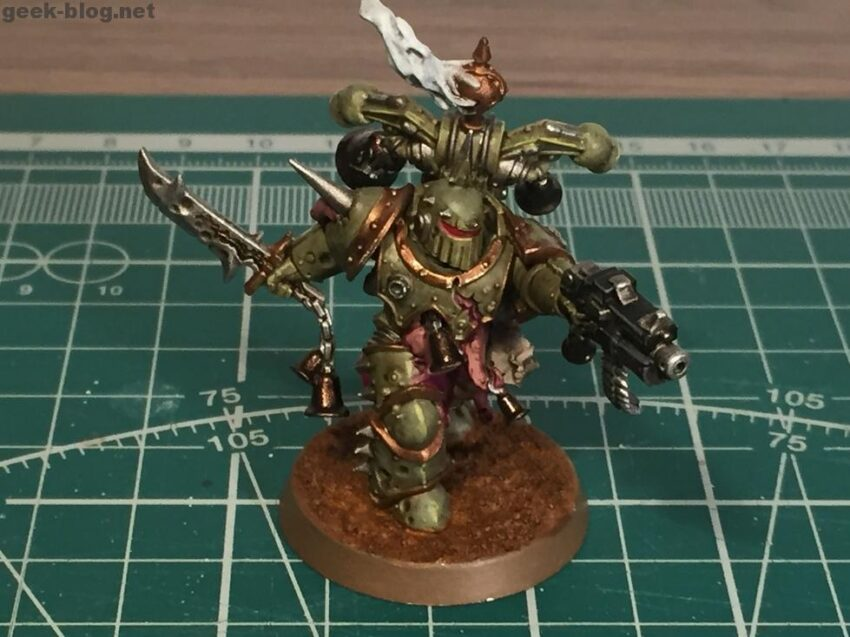 How to paint Death Guard Plague Marine from Know No Fear starter set
