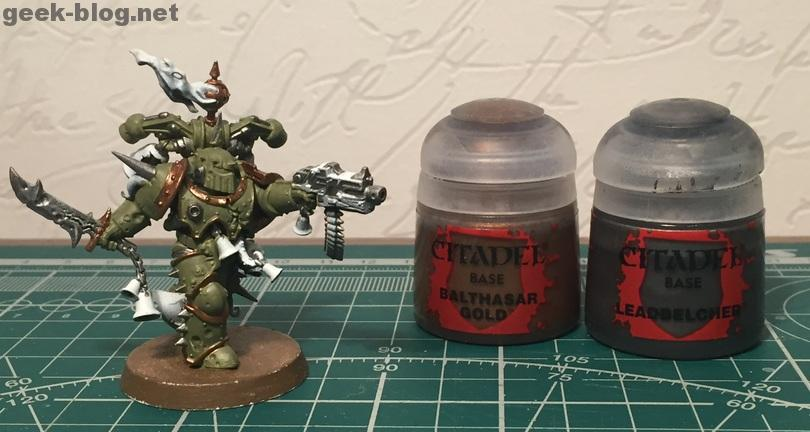 How to paint Death Guard Plague Marine step 3.1 painting