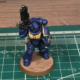 how to paint ultramarine