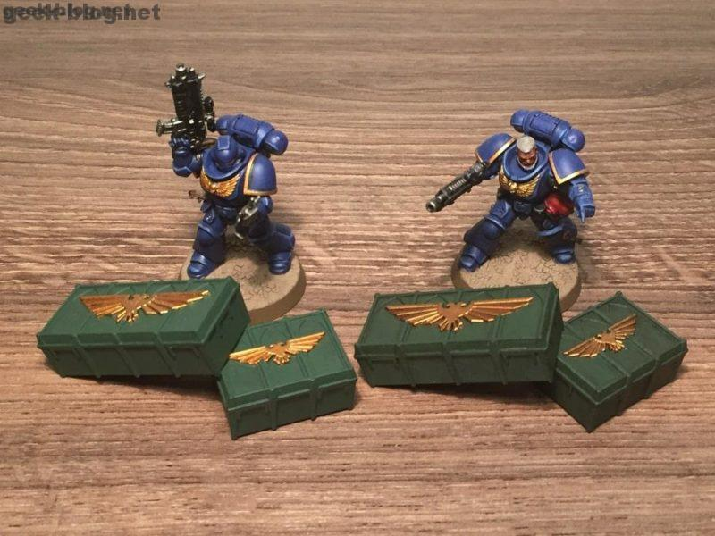How to Paint Munitorum Supply Crates WH 40k