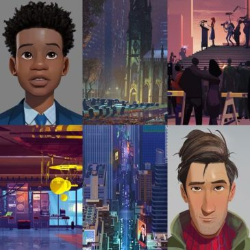 Spider-Man: Into the Spider-Verse Concept Arts