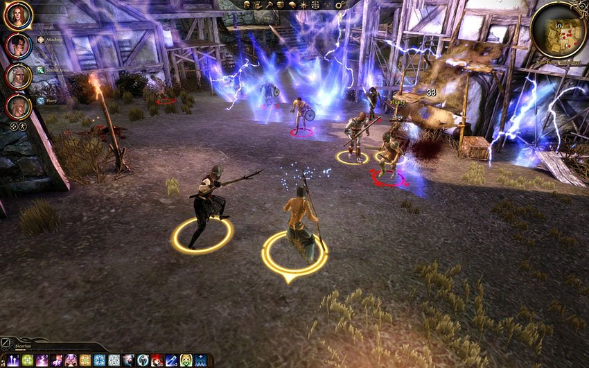 dragon age origins gameplay review