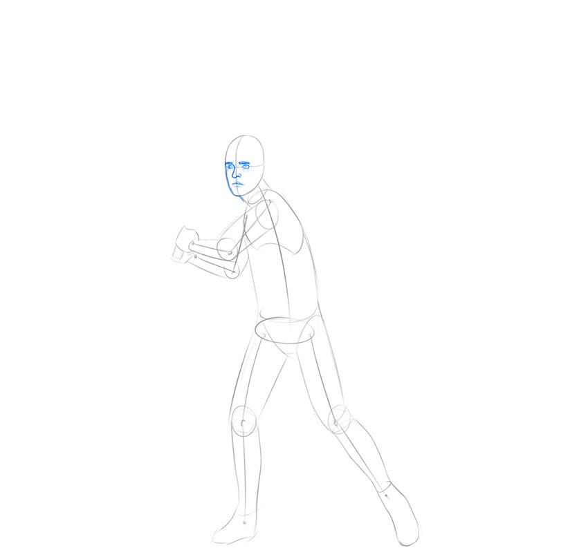 how to draw luke skywalker easy